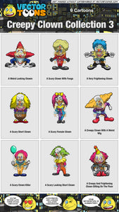 Creepy Clown Collection 3