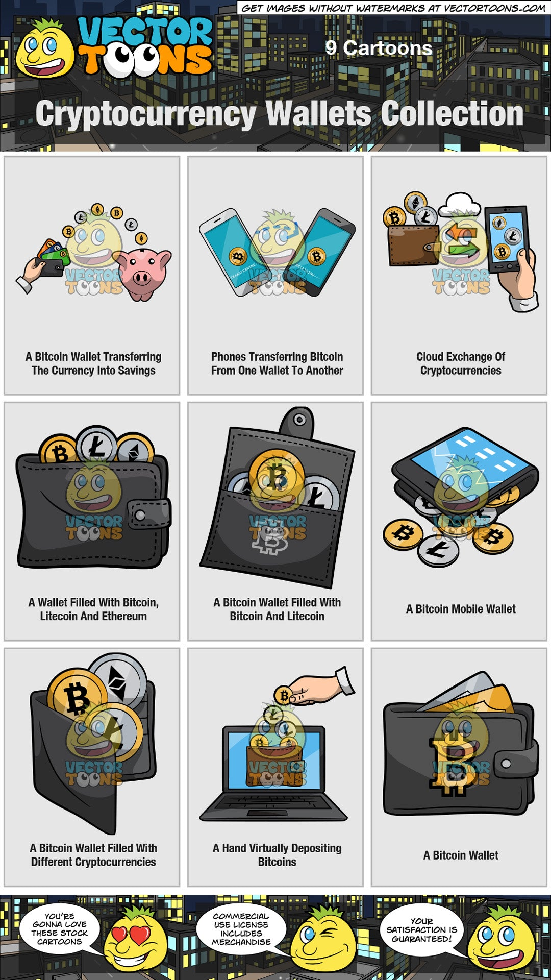 Cryptocurrency Wallets Collection