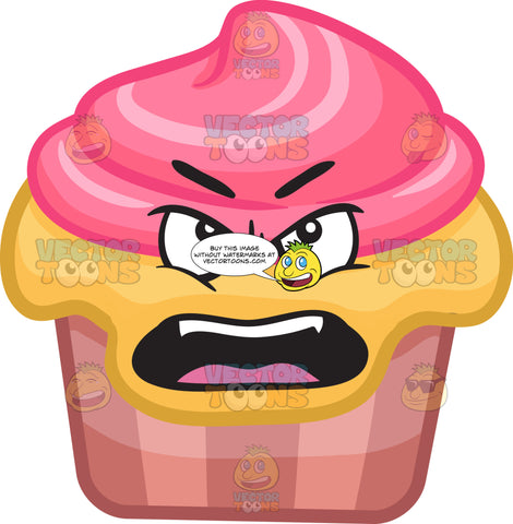 A Nagging Party Cupcake
