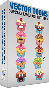 Cupcake Emoji Collection 4