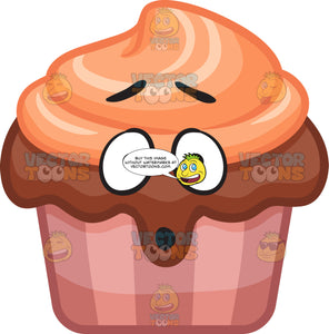 A Dumbfounded Party Cupcake