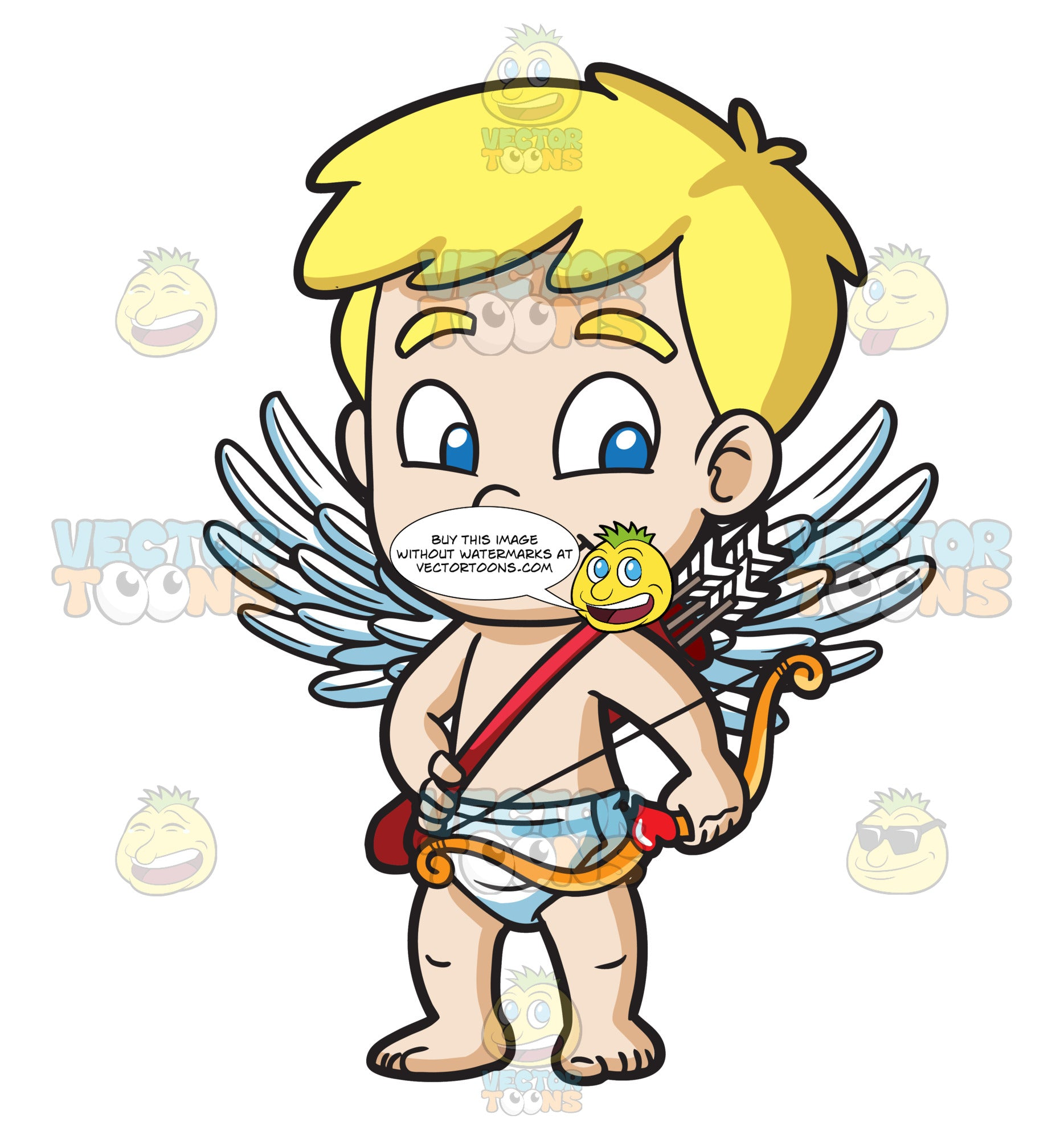 A Cute Little Cupid