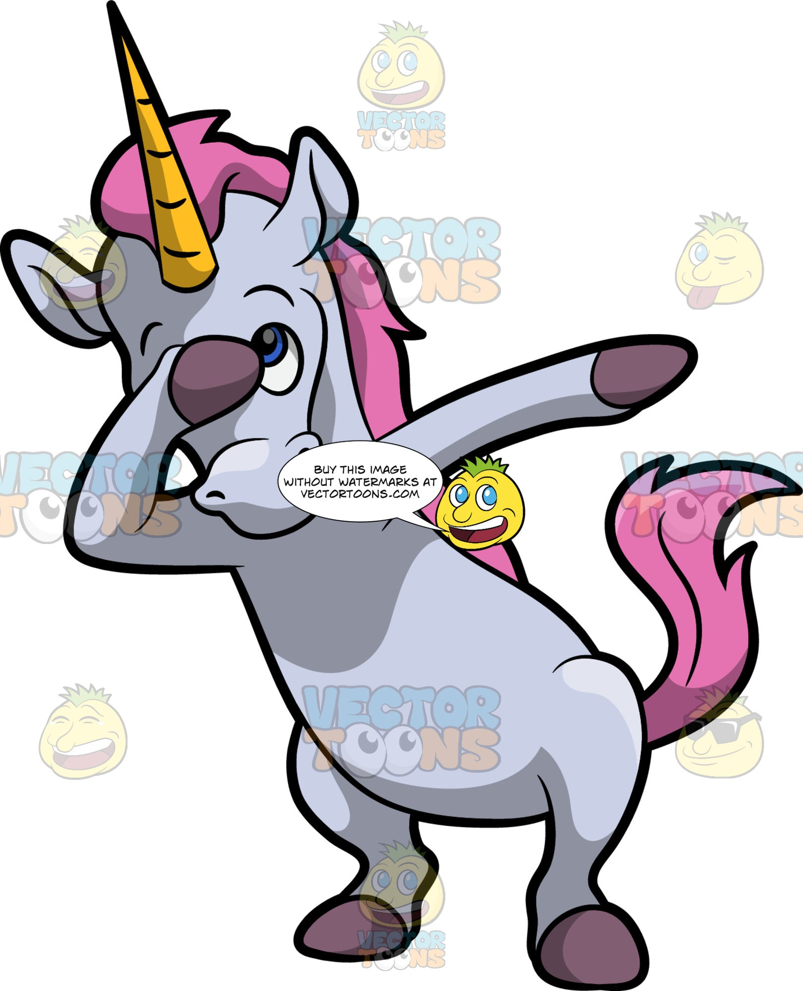 A Dabbing Unicorn