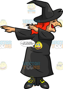 A Dabbing Witch