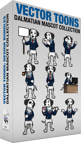Dalmatian Mascot Collection