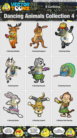 Dancing Animals Collection 4