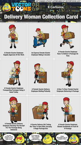 Delivery Woman Collection Carol