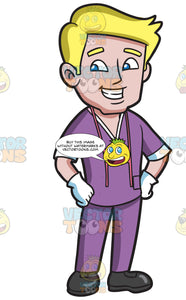 A Smart And Confident Dental Hygienist