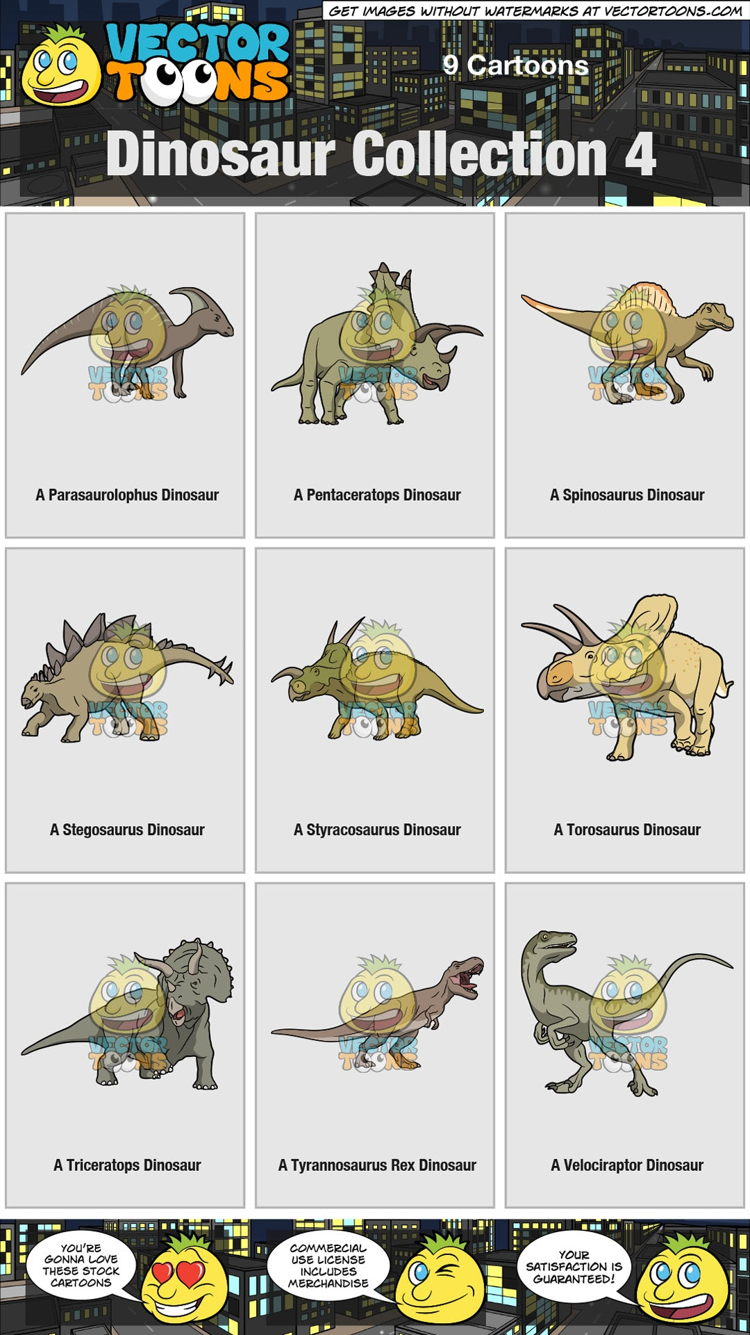Dinosaur Collection 4