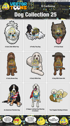Dog Collection 25