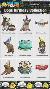 Dogs Birthday Collection