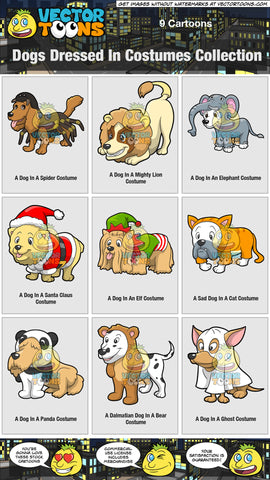 Dogs Dressed In Costumes Collection