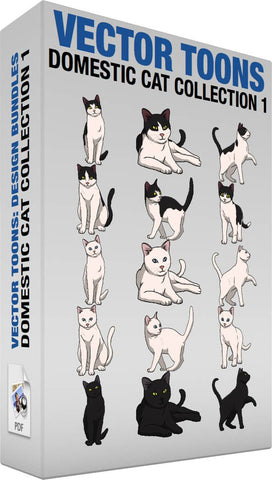 Domestic Cat Collection 1