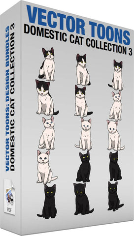 Domestic Cat Collection 3