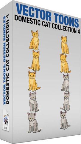 Domestic Cat Collection 4