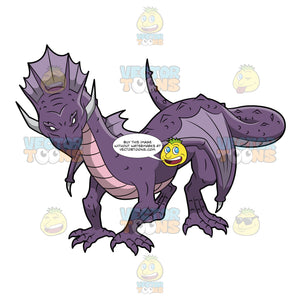 A Purple Dragon