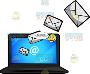 Electronic Mail Sent Via A Laptop