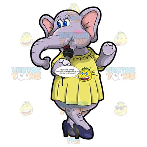 Emma The Elephant Hosting A Party