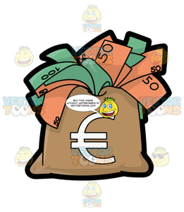 A Big Bag Full Of Euros