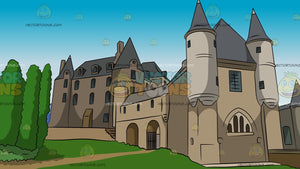 European Castle Background