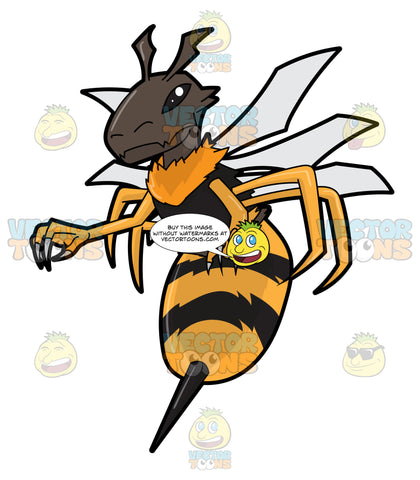 An Alienesque Killer Bee