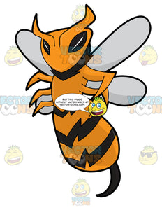 An Intimidating Killer Bee