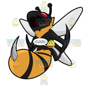 A Screaming Killer Bee