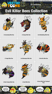 Evil Killer Bees Collection