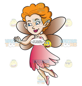 A Fairy With Orange Hair