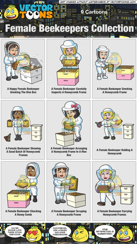 Female Beekeepers Collection