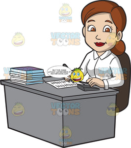 A Friendly Female Bookkeeper