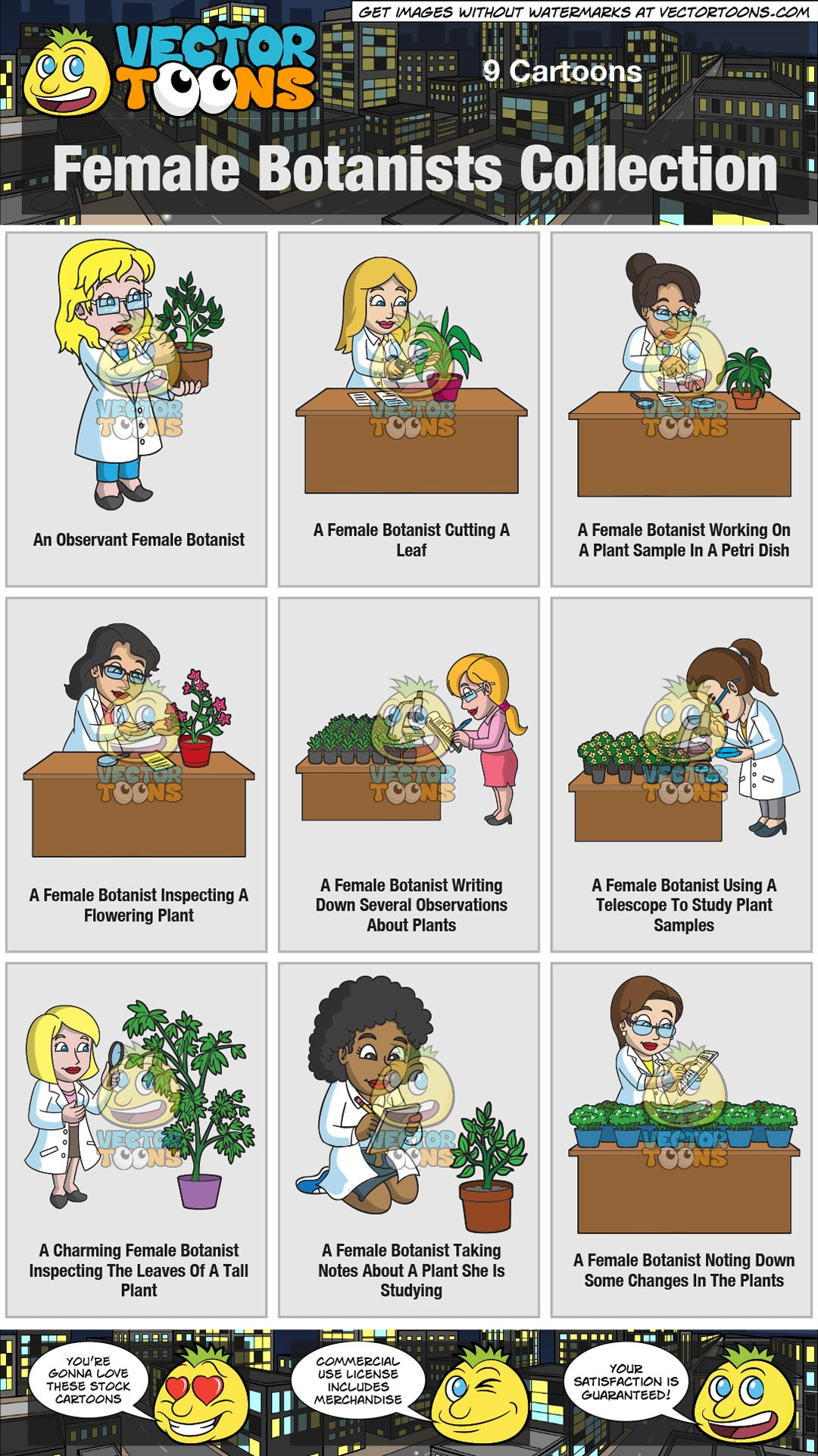 Female Botanists Collection