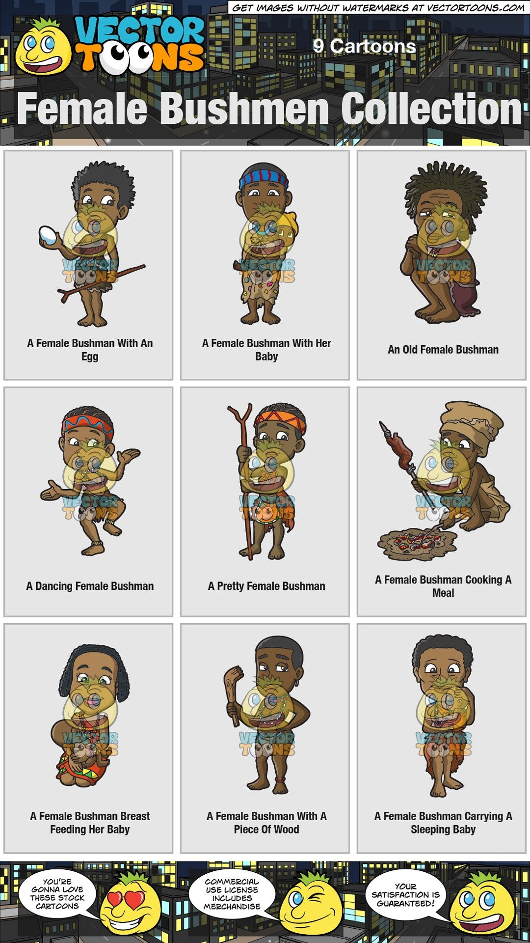 Female Bushmen Collection