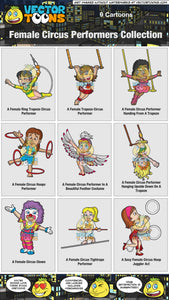 Female Circus Performers Collection