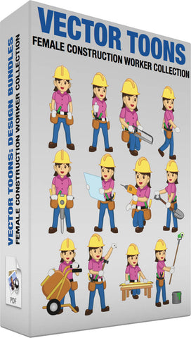 Female Construction Worker Collection