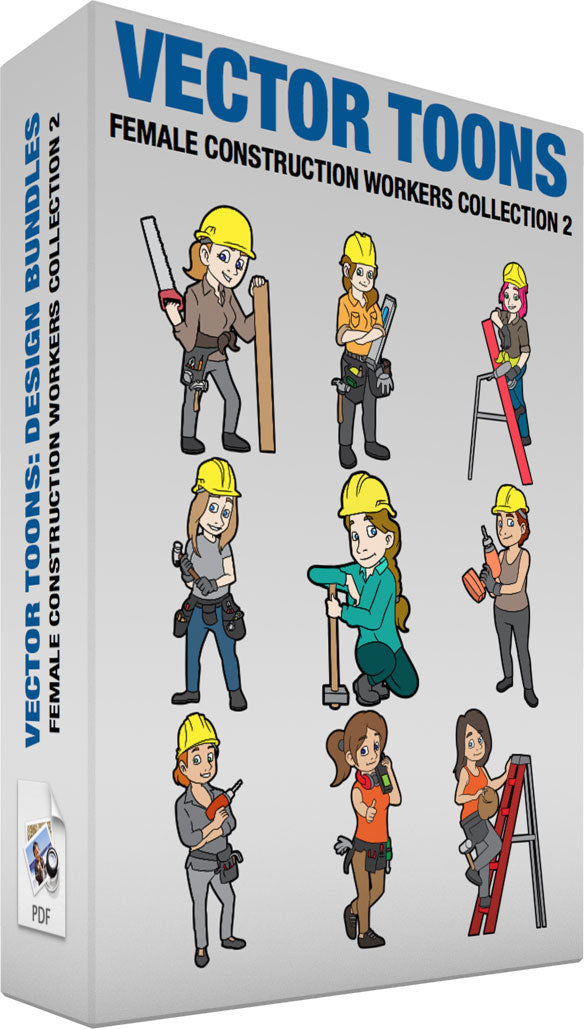 Female Construction Workers Collection 2