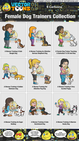 Female Dog Trainers Collection
