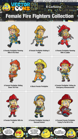 Female Fire Fighters Collection