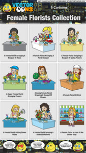 Female Florists Collection