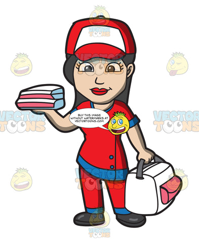 A Pizza Delivery Girl