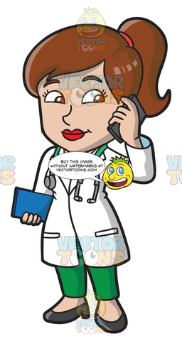 A Female Doctor On Call