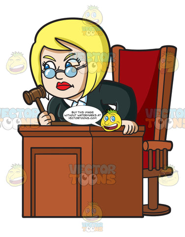An Infuriated Female Judge