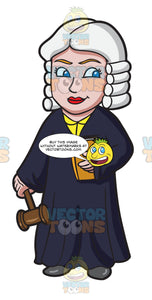 A British Female Judge