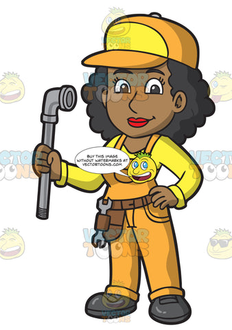 A Black Female Plumber