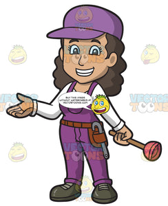 A Friendly Female Plumber