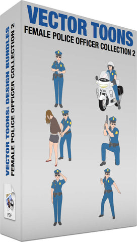 Female Police Officer Collection 2