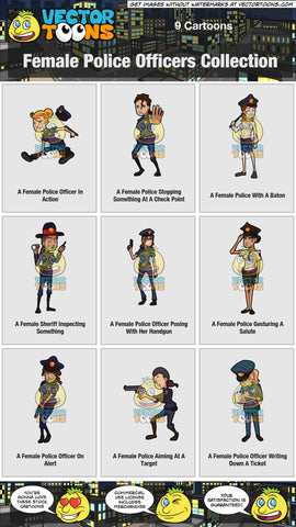 Female Police Officers Collection