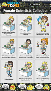 Female Scientists Collection