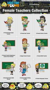 Female Teachers Collection