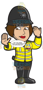 A British Female Traffic Police